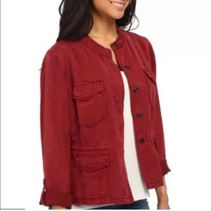 NEW NWT SANCTUARY RED UTILITY/SAFARI JACKET XL